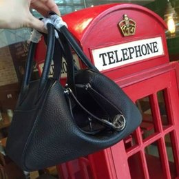 Wholesale Togo Bags - Best quality bag in Black Togo Lindy Palladium free shipping by EMS