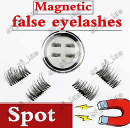 Wholesale Eyelashes Transparent Terrier - 1PCS2017 latest magnet false eyelash suction stone mascara magnetic magnetic buckle without glue three-dimensional multi-layer natural thick