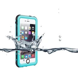 Wholesale Wholesale Red Peppers - For iphone 5 5s New Style Red Pepper IP68 Waterproof Snowproof Dropproof Dirtproof Shockproof cell phone Cases 20pcs