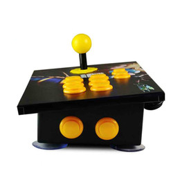Wholesale Usb Arcade Joysticks - Hot Cdragon Arcade Stick USB Rocker Arcade Joystick KOF Street Fighter Three and PC Computer Game Handle Inclined