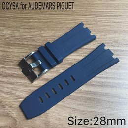 2019 goma pam Bandas de Apple Correas de reloj Accesorios 28 MM para bandas de caucho Royal banda de reloj banda de 22 mm goma pam baratos