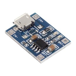 Módulo de litio online-5V Mini MICRO USB 1A TP4056 Cargador de batería de litio Módulo de carga