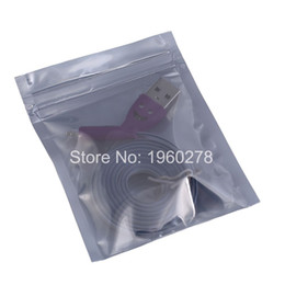 Wholesale Bedding Packs - 8x10cm 100pcs flat bottom Translucent barrier Self Seal Zip Lock Waterproof Reclosable Antistatic Packing Bag for computer parts