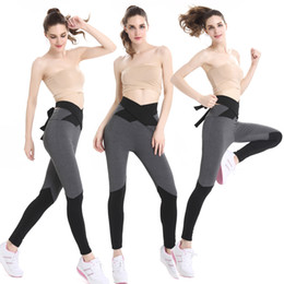 Wholesale Women Compression Leggings - Quick Drying Compression Tights fabric Stretched Sports Pants Gym Clothes Running Tight Women Sports Leggings Fitness Yoga Pants drop ship