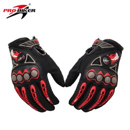 Wholesale Enduro Dirt Bike - Wholesale- PRO-BIKER Motorcycle Racing Gloves Breathable Enduro Dirt Bike Moto Guantes Luvas Off Road Motocross Motorbike Riding Gloves