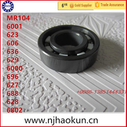 Wholesale Full Ceramic Bearings - Wholesale- Free shipping 1pcs MR104 6001 623 606 636 629 6000 696 627 688 628 6802 full SI3N4 ceramic bearing