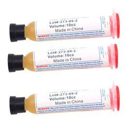 Wholesale Solder Grease - 3pcs Solder Soldering Paste 10cc Flux Grease RMA-223 For LED, SMD, PCB, BGA, PGA Repair