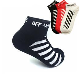 Wholesale Over Knee Socks For Women - WJFXSOX Unisex Striped Tie Dye Socks For Men And Women Hip-hop Socks Justin Bieber Men's Women Skateboard Compression Off White short Socks