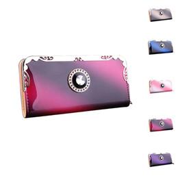 Wholesale Black Pillow Covers - S5Q Women Casual Wallet Card Slot Holder Zipper Clutch Handbag Long Leather Purse AAAGMI