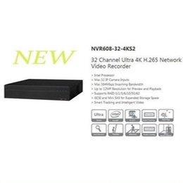 Wholesale Video Recorder 32 Channel - DAHUA 2016 NEW Product 32 Channel Ultra 4K H.265 Network Video Recorder Support 8 SATA HDD without Logo NVR608-32-4KS2