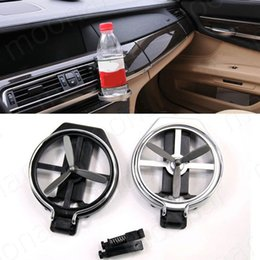Wholesale Cup Holder Van - car cup holders clips racks Universal Folding Air flow Conditioning Inlet Aut Car Bottle water frame for Truck Van