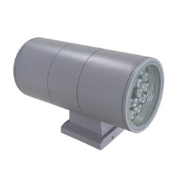Wholesale Lamp Fixture Wall Mount - LED Outdoor Lamp Garden Wall Decoration Lighting Outside Lights Fixture 6W 12W 18W 24W 36W Double UP-Down Wall Mount Light 85-265V