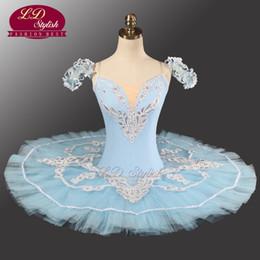 Tutus de ballet classique en Ligne-Tutu professionnel bleu LD0005 Ballet Performance Tutu Ballet classique professionnel Tutu Ballet classique professionnel adulte