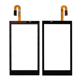 Wholesale Oem Digitizer Touch - 100PCS OEM Touch Screen Digitizer Glass Lens for HTC Desire 200 310 516 610 620 626 816 820 A320e free DHL