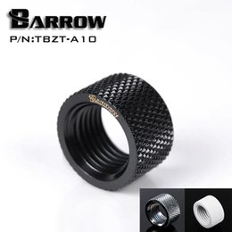 Wholesale pc water cooling fitting - Wholesale- Barrow G1   4 '' Female to Female (Extender 10.5mm) PC water cooling system water cooling fitting TBZT-A10