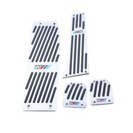 Wholesale Bmw Pedal Cars - Car Foot Rest Pedal Pad Set Footrest Set For BMW X1 E46 E90 E92 E93 E87