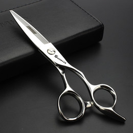 Wholesale Profile Stainless Steel - Sharonds 6 inch hairdresser special hairdressing scissors high profile hair styling willow shears stainless steel scissors