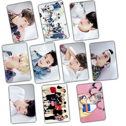 Wholesale Bamboo Albums - Wholesale- Kpop GOT7 FLY 2016 Album Let's Dance crystal sticker 10 k-pop got 7 Photos gift poster holiday birthday awards welfare Collect