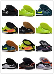 Wholesale Ic Cream - X Finale II TF IC Soccer Shoes Turf Football Shoes Finale Street TF Indoor Soccer Boots Futsal Football Boots Football Cleats Athletic Shoes
