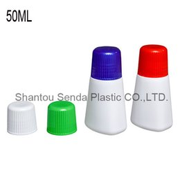 Wholesale Wholesale Personal Care Products - 20pcs free shipping top sponge bottles new product HDPE sponge applicator medicine liquid bottles with blue sponge