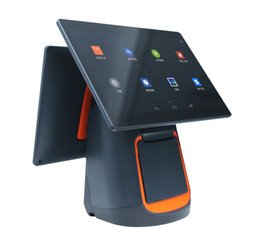 Wholesale Usb Printers - Smart cashier collection one machine, single and double screen touch screen universal cash register system, take-away printer