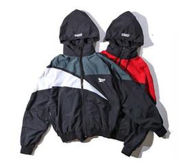 Wholesale Men Jacket Waterproof Windbreaker - hip hop Palace skateboard Windbreaker vetements Men and women hooded waterproof zipper Coat unisex movement jackets
