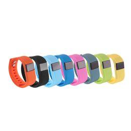 Wholesale Bit Bracelet - fit bit tracker Tw64 bluetooth bracelet Smart bracelet Wristband Fitness tracker Bluetooth 4.0 fitbit flex Watch for ios android