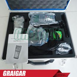 Wholesale Ultrasonic Water Sensor - Wholesale- Digital handheld water ultrasonic flow meter with M2 sensor TDS-100H ultrasonic flowmeter Fast shipping