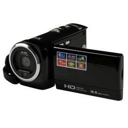 Wholesale Fixed Focus Digital Cameras - Wholesale-HD HD Tourism cameras mini Digital Home camera anti-shake 16 times optical zoom