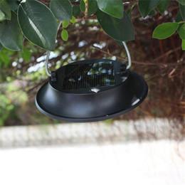 Decoración exterior online-Luces llevadas solares impermeables al aire libre, lámpara que acampa portable para el jardín exterior Decoración del árbol Luz de emergencia impermeable auto IP65