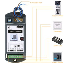 Wholesale entry control - Wholesale-DC 12V 3A Power Supply for Door Entry Access Control System AC110-220V
