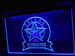 Wholesale Advertising Lighted Sign - TM Dallas Cowboys Sport Bar Neon Light Signs Advertising