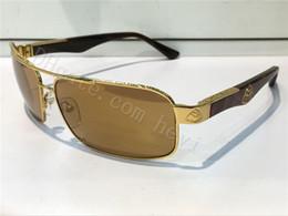 Wholesale Men Sunglasses Car - new luxury car brand Maybach sunglasses 18K gold plated square frame Spring temples men brand designer sunglasses G-ZA-Z03 wrap goggles