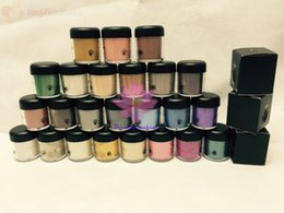 Wholesale Loose Pigment Eyeshadow Wholesale - Hot sale Classical loose eye shadow 7.5g Pigment Makeup Single Eyeshadow With English Name ( 6Pcs Lot)