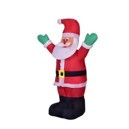 Wholesale Inflatable Ornament - 1.2m Home Garden Festive & Party Ornament Inflatable 110V   220V Santa Claus Hot Sale Christmas Decoration