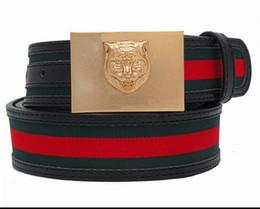 Wholesale Womens Waist Belts - Fashion 2017 cow genuine leather Mens Womens pattern Belts for G Shape Alloy Buckle Fashion Waistband Waist Belt Cinturon Hombre Cheap Sale