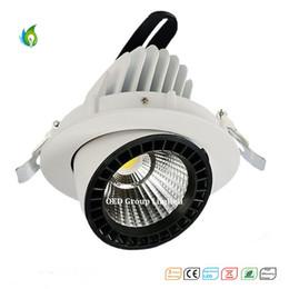 2019 verstellbare einbaubeleuchtung Einstellbare 20W LED Spot Downlight drehbare LED Trunk Light Einbau Gimbal Richtung Einstellbare LED Spot Lampen