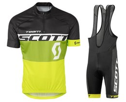 Wholesale Scott Clothes - New Style 2016 Scott Team Ropa Ciclismo Cycling wear Cycling Jerseys Pro Summer Cycling Clothing Breathable Cycle Clothes MTB Bicycle Sports