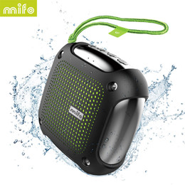 Wholesale H3 Audio - new mini Wholesale- mifo H3 Portable Bluetooth Speaker APP Contral Waterproof Outdoor Speaker MP3Player altavoz bluetooth support TF SD Card