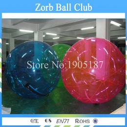 Wholesale Inflatable Pool Walking Balls - Free Shipping Hot Sale Water Ball German Zipper TPU Water Walking Ball Funny Inflatable Sports Games For Swimming Pool