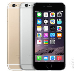 Wholesale Iphone Screen Retina - Refurbished Original Apple iPhone 6 Plus Unlocked 5.5 inch Retina Screen 16GB 64GB ROM IOS 9 Dual Core 8.0MP Camera 1080P LTE 4G DHL 1pcs