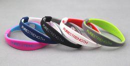 Power sport armband online-Hochwertiges silikon negative ionen balance armreif energie endevr power armband purestereth energie armband kostenloser versand