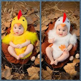 Wholesale Free Siamese - New Fashion show Newborn Babys Boy Girls Costume Photo Photography Prop Chick Hat Siamese Clothes Outfits Photo Studio