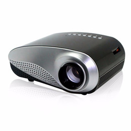 Wholesale New Projectors Tv Lcd - Wholesale-NEW RD802 Mini 3D LCD HD Projector Multimedia LED Projector Home Education Cinema Video Support AV TV VGA HDMI USB TF Card