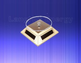 Wholesale Sell Turntables - solar panel stand Solar Rotating Stand (Turntable) Green energy best promotion item Solar Gift Hot sell 037-00