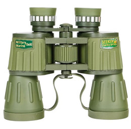 Wholesale Binoculars Army - Wholesale 10x50 army green Binoculars High-definition low-light night vision binoculars large eyepiece