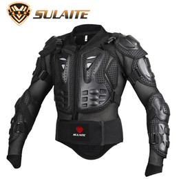 Wholesale Xxl Body Armor - High quality Professional Motorcycle jacket Body Protector Motocross Racing Full Body Armor Spine Chest Protective Jacket Gear