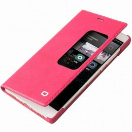 Wholesale Huawei Flip Case - case for Huawei P8 Max Wallet Case for P8 Ultra Thin Flip Genuine Leather Cover For Ascend P8