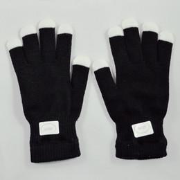 Wholesale Magic Hand Glove - Wholesale- Amazing 7 Mode LED Magic Light Show Hand Finger Lighting Flashing Party Gloves
