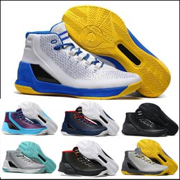 Wholesale Price Tennis - 2017 Top quality Retro V3 Space Step-C SC Basketball Shoes Men Women #30 basketball shoes Sneakers With Box factory price